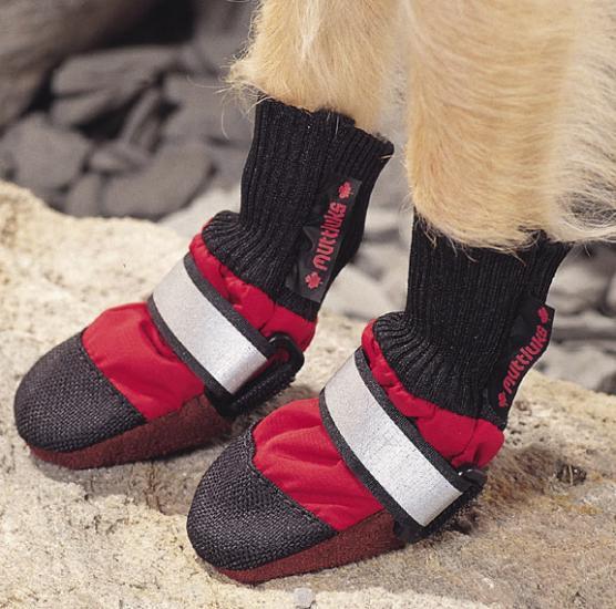 Ботинок для собаки своими руками