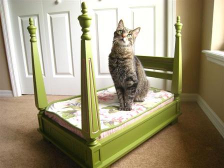 Делаем кровать для кошки